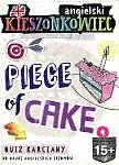 Kieszonkowiec angielski Piece of Cake (15+) Quiz karciany