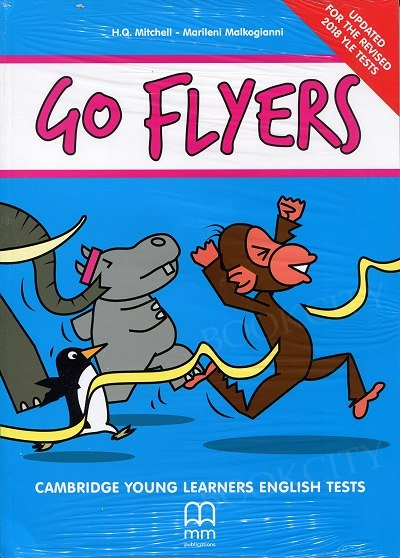 Go Flyers (Updated for the revised 2018) Student's Book+ Student's Audio CDs