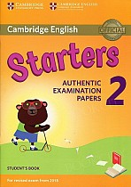 Cambridge English Starters 2 (2018) podręcznik