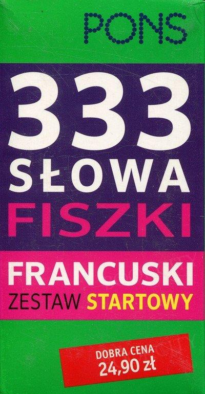 333 Słowa Fiszki Francuski Zestaw startowy