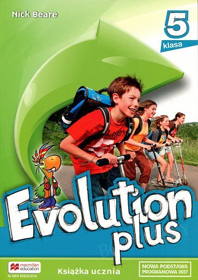 Evolution plus klasa 5 podręcznik