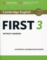 Cambridge English First 3 FCE (2018) Student's Book without answers