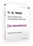 Niewidzialny człowiek z podręcznym słownikiem angielsko-polskim