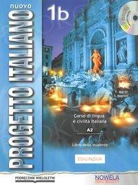 Nuovo Progetto Italiano 1B Podręcznik +CD wersja wieloletnia