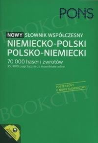 PONS Nowy słownik współczesny niemiecko-polski, polsko-niemiecki