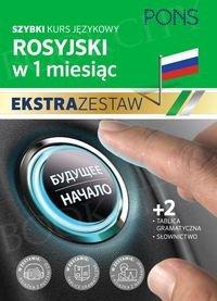 Rosyjski w 1 miesiąc Ekstra zestaw