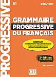 Grammaire Progressive du Français Débutant 3e édition Podręcznik + CD