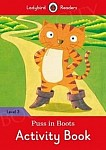 Puss in Boots Activity Book Level 3