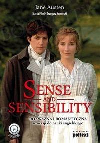 Sense and Sensibility.  Rozważna i romantyczna w wersji do nauki angielskiego Książka + mp3 online