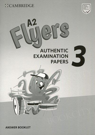 Cambridge English A2 Flyers 3 (2019) Audio CDs