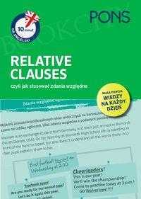 10 minut na angielski PONS Relative Clauses, czyli jak stosować zdania względne