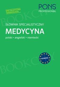 Słownik specjalistyczny Medycyna Polski/Angielski/Niemiecki