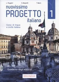 Nuovissimo Progetto italiano 1 (A1-A2) Ćwiczenia + CD