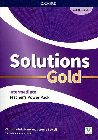 Solutions Gold Intermediate Teacher's Guide PACK