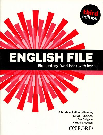 English File Elementary (3rd Edition) (2012) Workbook with key