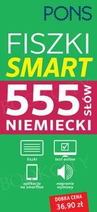 Fiszki SMART PONS 555 słów na co dzień Niemiecki