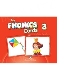 My Phonics 3 Long Vowels Phonics Cards