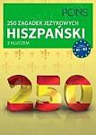 250 zagadek językowych Hiszpański Książka z kluczem