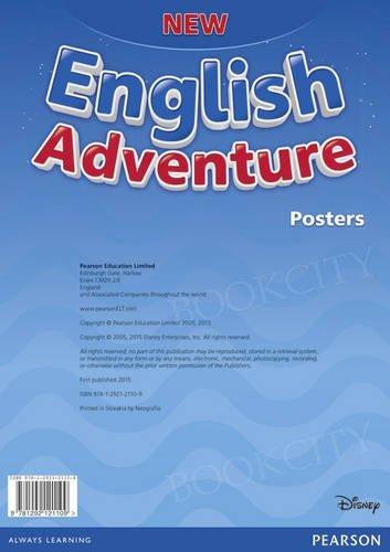 New English Adventure Starter Zestaw plakatów