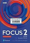 Focus 2 Second Edition Student's Book + kod (Digital Resources + Interactive eBook)