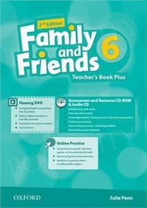 Family and Friends 6 (2nd edition) Teacher's Book Plus PK(Teacher's Resource Centre, Fluency DVD, Online Practice)