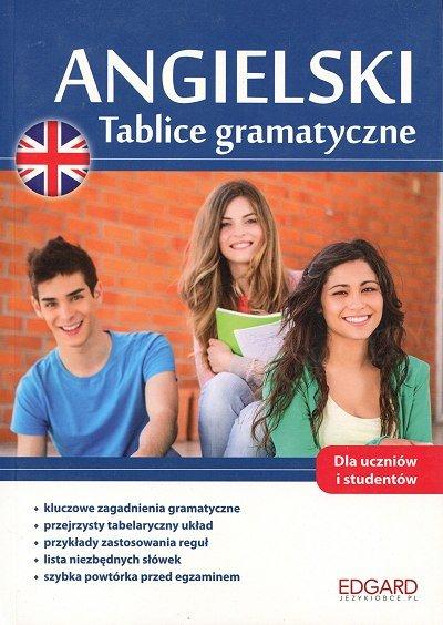 Angielski Tablice gramatyczne Książka