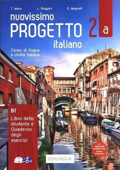 Nuovissimo Progetto italiano 2A Podręcznik + ćwiczenia + CD + DVD