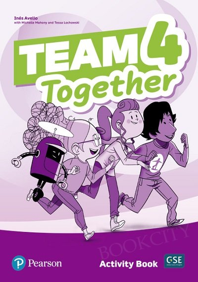 Team Together 4 Activity Book