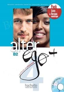 Alter Ego+ 4 Podręcznik + CD-Rom + kod (podręcznik online)