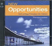 New Opportunities Pre-Intermediate Class CDs (3)