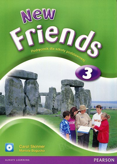 New Friends 3 Student's Book plus CD-ROM