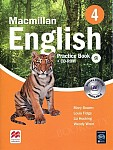 Macmillan English 4 Practice Book and CD Rom Pack New Edition