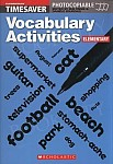 Vocabulary Activities Elementary