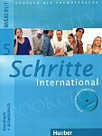 Schritte international 5 Kurs und Arbeitsbuch mit CD zum AB PL und Zeszyt ucznia XXL