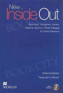 New Inside Out Intermediate Książka nauczyciela + Test CD + eBook