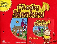 Cheeky Monkey 1 Pupil's Book + Multi-ROM