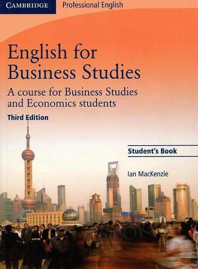 English for Business Studies, Third edition