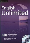 English Unlimited B1 Pre-intermediate ćwiczenia