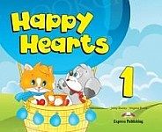 Happy Hearts 1 Pupil's Pack (Pupil's Book + Multi-ROM)