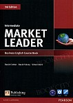 Market Leader 3rd Edition Intermediate Coursebook plus DVD-ROM (bez kodu)