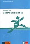 Mit Erfolg zum Goethe-Zertifikat B2 Testy z płytą CD