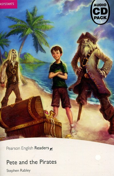 Pete and the Pirates plus Audio CD