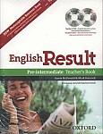 English Result Pre-intermediate książka nauczyciela