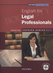 English for Legal Professionals Student's Book with MultiRom