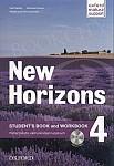 New Horizons 4 Student's Book + Workbook