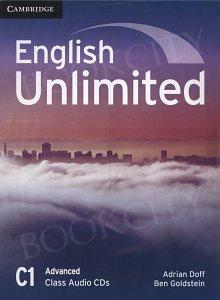 English Unlimited C1 Advanced Class Audio CDs (3)