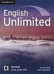 English Unlimited C1 Advanced Class Audio CDs (3)