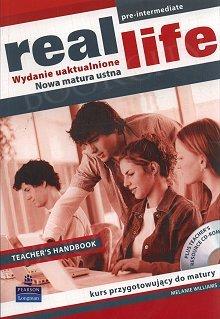 Real Life Pre-Intermediate - wydanie uaktualnione Teacher's Handbook plus Teacher's Resource CD-ROM