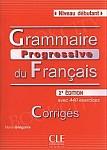 Grammaire Progressive du Français Débutant 2nd Edition Klucz