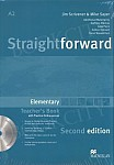 Straightforward 2nd ed. Elementary Teacher's Book (Pack)+eBook